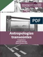 Antropologías transeúntes