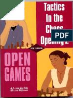 Friso Nijboer - Tactics in the Chess Opening 2 - Open Gaames
