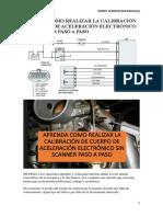 Aprenda Como Realizar La Calibración de Cuerpo de Aceleración Electrónico Sin Scanner Paso a Paso-1