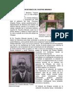 Historia Del Jardin Botanico Dr. Faustino Miranda Tuxtla Gutierrez Chiapas