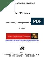 Monsenhor Ascanio de Brandao - A Tibieza