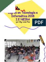 Presentación e Logros en Tecnologia 2019