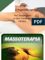 Historia Da Massagem