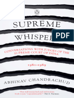 Abhinav Chandrachud - Supreme Whispers_ Supreme Court Judges, 1980-90-Penguin Viking (2018)