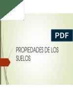 PROPIEDADES FISICO-QU+ìMICAS DEL SUELO