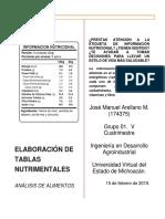 u1. Acción 2. Elaboración de Tablas Nutrimentales.-convertido1