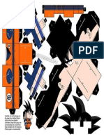 38 Best Papercraft Images by Maria Villegas on Pinterest Paper Papercraft Dragon Ball