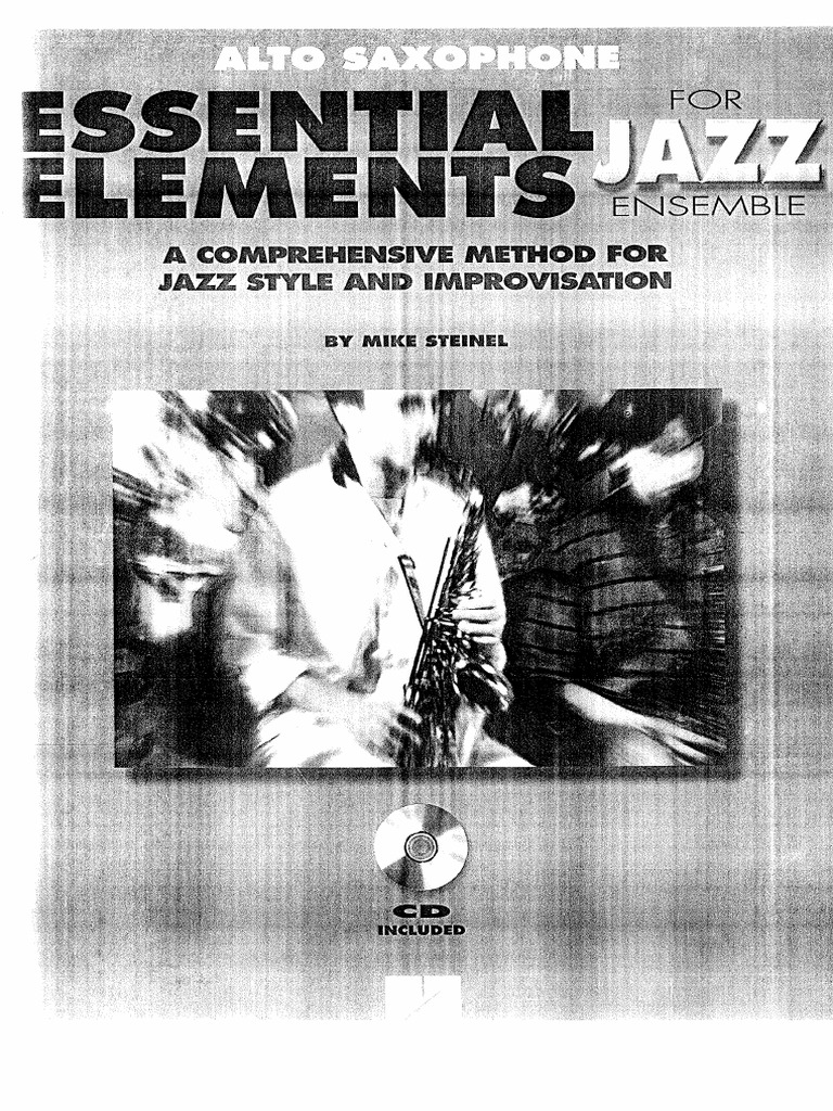 Essential Elements for Jazz Ensemble pdf