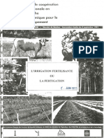 1991-CIRAD-L Irrigation Fertilisante Ou Fertigation