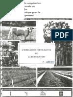 1991-CIRAD-L Irrigation Fertilisante Ou Fertigation