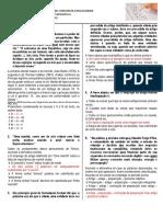 Simulado 2 Barretos - Artigo e Substantivos (Gabarito)