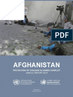 UN's 2018 annual report on protection of civilians in armed conflict