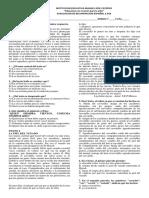 Recuperacion Español Para Periodos 1,2 y3