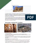 Historia La de Los Monumentos de Andalucía