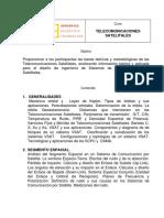 Programa Del Curso Telecomunicaciones Satelitales-Holder