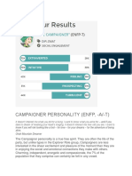 Campaigner Personality