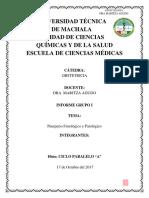 Puerperio Fisiológico y Patologico