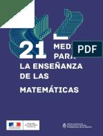 21 Medidas Para La Enseñanza de Las Matemáticas (2) (1)