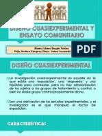 EXPOSICIÓN-EPIDEMIOLOGÍA CUASIEXPERIMENTALES