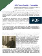 Teatro del siglo XIX -REALISMO-.doc
