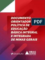 Documento Orientador Da Política de Educação Básica Integral e Integrada