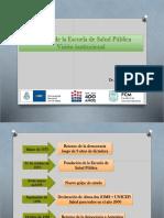 Desafios de la escuela de salud pública
