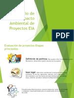 Estudio de Impacto Ambiental de Proyectos EIA
