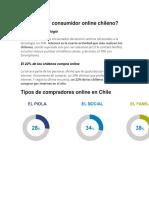 Cómo Es El Consumidor Online Chileno