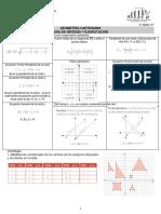 Guía de Geometría Cartesiana