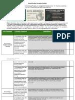 copy of revised rubric for key concepts portfolio