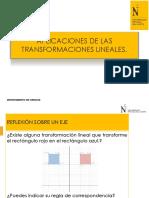 Ppt 03b Aplicaciones de Las Transformaciones Lineales