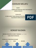 Tajuk 1 Kebudayaan Melayu