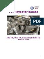 Audi TDI Inyectro Bomba,Jetta,Bora,Eurovan,Beetle,Motor1.9L Turbo.92 Pag