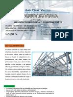 Definicion Del Sistema constructivo perfil de metal, tridilosas y drywall