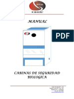 Manual Cabina Seguridad Biologica