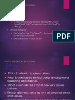 Business Ethics Concept 1