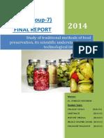 Group 07 Food Preservation