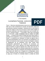 2.- La enseñanza Tecnicista Como Actual De Enseñanza  2.docx