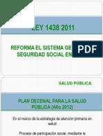 Ley 1438 - Seminario Facturación.pps