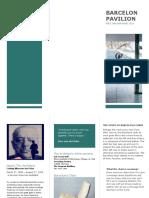 Barcelona Pavilion Paper 2