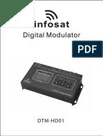 User Manual DTM HD01 Black