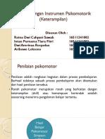 Pengembangan Instrumen Psikomotorik (Keterampilan)