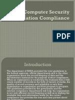 Security Regulation Compliance