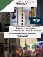 TERAMPUH DI INDONESIA!!! 085-852-704-779 Terapi Perilaku Kognitif Di Surabaya