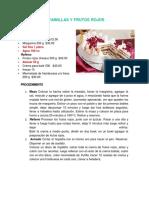 Milhojas de Vainillas y Frutos Rojos1
