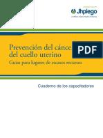 Manual Para Tamizaje Del Cancer Cervico Uterino