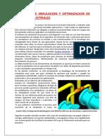 Software de Simulación y Optimización de Plantas Industriales