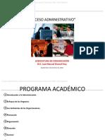 Proceso administrativo Unidad 1
