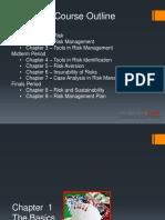 Chapter 1 - Risk Basics
