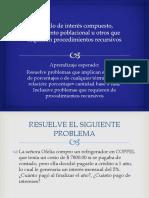 Cálculo de interés compuesto, crecimiento poblacional u.pptx